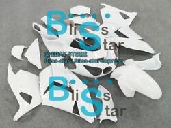 White Fairings Kit Fit Kawasaki Ninja Zx14r Zx-14r 07 08 09 10 2006-2011 26 A4