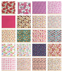 Soft Polyester Fabric By The Yard Decorative Upholstery Home Accents Ambesonne