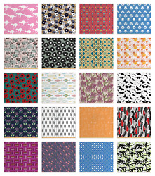 Ambesonne Indoor Outdoor Fabric By The Yard Upholstery Home Accents Decor