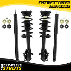 2007-2010 Ford Edge Front Quick Complete Struts And Rear Shock Absorber Bundle