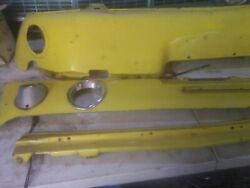 Vintage Early 1968 Gt 390 Ford Rear Valance - Front Stone Deflector Grille -used