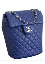 Beautiful CHANEL Backpack Matelasse Chain In Quilted Lambskin Leather $4175.00