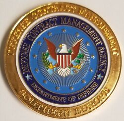 Us Dod Dept Of Defense Contract Management Agency Southern Europe Challenge Coin