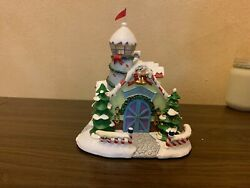 Hawthorne Village Rudolph's Christmas Town Reindeer Barn And Weather Watch Tower