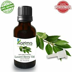 Kazima Laurel Berry Essential Oil Pure Natural And Undiluted For Skin And Hair Care