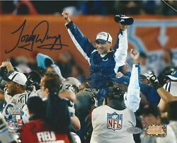 Tony Dungy Signed 8x10 Photograph Steiner Certified Authentic Autograph Colts