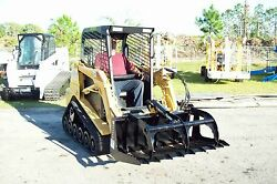 Bradco 42 Brush Grapple Fits Mini Loaders,toro,ditch Witch,boxer, Plug And Go