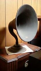 Atwater Kent Horn Speaker@tube Radio With Matching Model H @1925