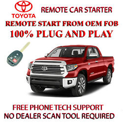 New 2019 Toyota Tundra Remote Starter -no Wire Splicing-easiest Install