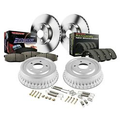 For Toyota Tundra 03-06 Brake Kit Power Stop 1-click Autospecialty Daily Driver