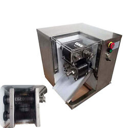 110v Shredded Meat Cutting Machine Meat Cutter With 3mm Blade 250kg/h Us