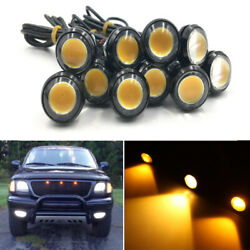 10x Car Suv Truck Amber Led Raptor Style Led Grille Light For 2015+ Ford F150