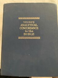 Young's Analytical Concordance To The Bible Corrected And Updated By Robert...