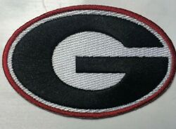 Georgia Bulldog patch ga patch GA iron on or sew on 3 3 8quot; wide bulldogs patches