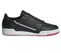 Women Adidas Original Continental 80 Casual Shoes Sneakers Black Leather G27723