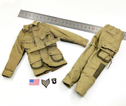 1/6 Scale Soldiers Wwii 101st Airborne Division And039guy Whidden Iiand039 Combat Uniform