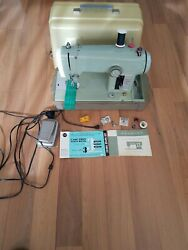 Vintage Sears Kenmore Sewing Machine With Case Portable