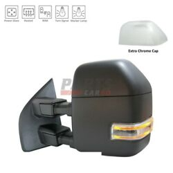 New Power Tow Door Mirror Left Fits 2017-2019 Ford F-250 Super Duty Hc3z17683fa
