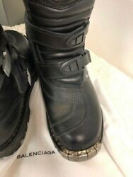 Mens Balenciaga Motorcycle Boots. Cost Over Andpound3000 Never Used 100 Authentic