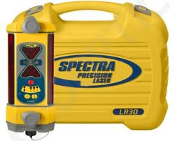 Spectra Precision Lr30 Machine Control Laser Receiver W/ Case And Nimh Battery