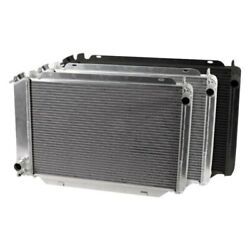 For Ford Mustang 79-93 Afco Muscle Car Performance Radiator W Dual Fan