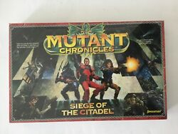 Mutant Chronicles Siege Of The Citadel Pressman Board Game Sealed