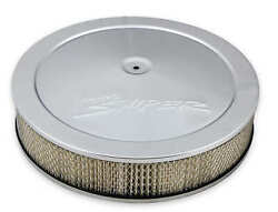 Holley Sniper Efi 120-540 Sniper Air Cleaner Assembly 14 X 4 - Chrome Finish