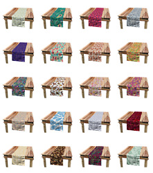Ambesonne Paisley Table Runner Dining Room Kitchen Decor In 3 Sizes