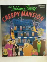 The Addams Family Creepy Mansion Action Game 1992 Sealed Pressman Collectible