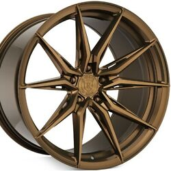 4 20 Staggered Rohana Rfx13 20x10.5 20x12 Bronze Concave Wheels Forged A1