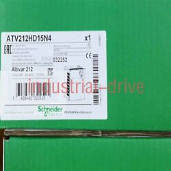 1pc Brand New Schneider Model Atv212hd15n4 One Year Warranty Expedited Delivery