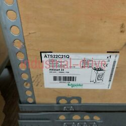 1pc Brand New Schneider Model Ats22c21q One Year Warranty Expedited Delivery