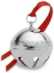 Wallace 2019 Sterling Silver Sleigh Bell 25th Anniversary Ed Christmas Ornament