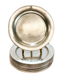 12 Kalo Shop Sterling Silver Hand Wrought Bread And Butter Plates Bb1l Mono B