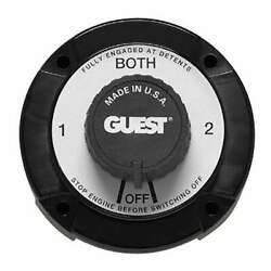 Guest 2111a Black Battery Selector Switch 2111a