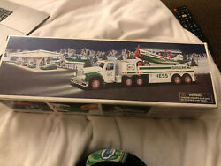Hess - Toy Truck And Airplane - Year 2002 Nib