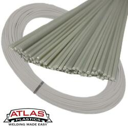 Atlas Plastics - Abs Plastic Welding Rods And Coils - Natural Off-white