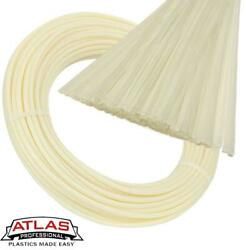 Atlas Plastics - Hdpe Plastic Welding Rods And Coils - Natural Off-white