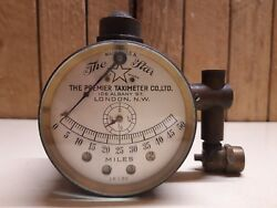 Antique The Star Premier Taximeter Co Ltd London Usa Rare Prewar Speedometer
