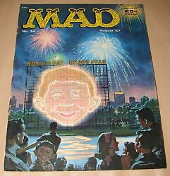 Mad Magazine - August 1957, Issue No.34 - Bob And Ray - Orson Bean
