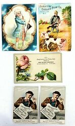 Victorian Trade Cards-perfection Cheese-syracuse Chilled Plow Co-watches