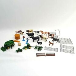 Lot Of 30 Farm Country Toys Animals John Deere Tractor Ertl New Ray More