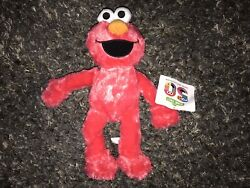 """Sesame Stree 15"""" Elmo 50th Anniversary Plush Licensed New With Tags"""