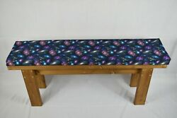 Handmade Wooden Kitchen Dining Bench And Cushion