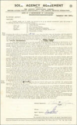 Martyn Green - Contract Signed 12/04/1951
