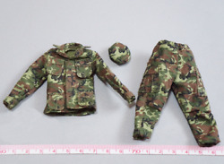1/12 Scale Soldiers Us Marine Force Recon In Vietnam Camouflage Uniforms Suits