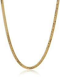 Kihei Collection 18k Kihei Necklace 6-sided Cut Double 20g Made In Japan