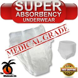 Adult 20 Disposable Moderate Absorbency M Medium Pull On Up Underwear Diapers