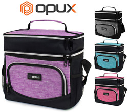Insulated Lunch Bag Leakproof Thermal Bento Cooler Tote for Women and Men Kids $15.99