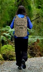 Military Tactical Backpack School Waterproof Backpacker Army Outdoor Canvas 40L $22.55